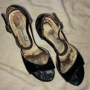 "DANCE HEELS CiF Tango black patent 36 3.75"""